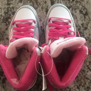 Girl adidas shoe